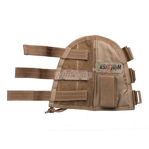 WINFORCE gear táctico WA-07 Tactical Stock Butt Pouch / 100% CORDURA / CALIDAD GARANTIZADO MILITARY Y OUTDOOR AMMO POUCH