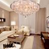 K9 Crystal Ceiling Light Modern Minimalist Creative Chandelier Living Room Dining Room Light Dia 75cm H 38cm