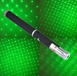 Wholesale Laser Pointer Kaleidoscope - 5mW 532nm Star light Beam Laser Pointer Pen with Kaleidoscope Cap Green Red Blue Violet SOS Teaching Meeting Mounting Hunting Xmas Gift LOTS
