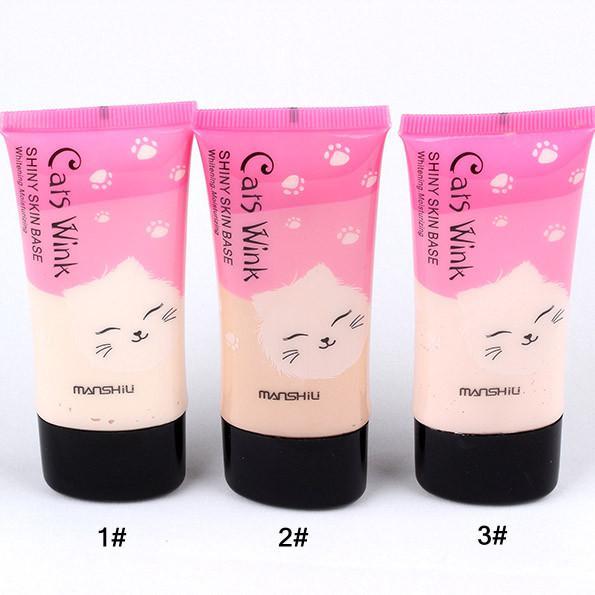 BB Creame Makeup Foundation Concealer Nya Skin Whitening Cream för ansikte Blekning Fuktkräm Smidig Make Up Base M-820 1 # 2 # 3 #