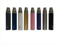 Wholesale Ego C Battery Colors - Luxury New best price 650mAh 900mAh 1100mAh eGo-T battery for eGo W eGo C e-cigarette Multi Colors for choosen Free Shipping from powerkey