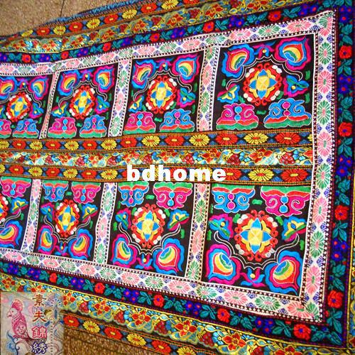 Hmong Embroidery Rectangle Tablecloth Yunnan Hand Woven Fabric Embroidered  Tablecloth Handmade Gift Banquet Table Linens Damask Tablecloths From  Bdhome, ...