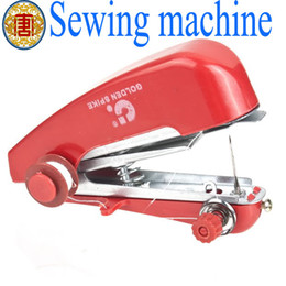 Wholesale Machine Sews - Wholesale - Brand new Portable Cordless Mini Hand-Held Clothes Sewing Machine