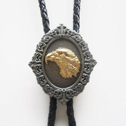 New Vintage fierté américaine Eagle Head Western Bolo cravate collier en cuir BOLOTIE-WT001 Livraison gratuite Brand New En Stock ? partir de fabricateur