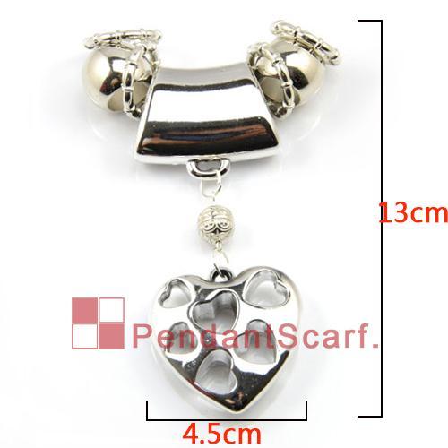 12st / hot fashion 4 Designs Blandade DIY Halsband Smycken Scarf Resultat Ny design Charm Pendant Set Tillbehör, Gratis frakt, AC4mix