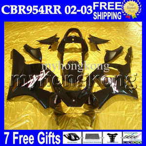 Wholesale Factory black gifts For HONDA CBR954RR CBR900RR MH6729 Free Customized CBR CBR900 RR RR CBR954 RR Gloss Fairing
