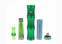 Wholesale E Cigarette Bamboo Kit - 2013 AAA quality X7 Bamboo Shape Variable Voltage Electronic Cigarette E-cigarette Mechanical Mod with CE4 atomizer Kit,50pcs,free DHL
