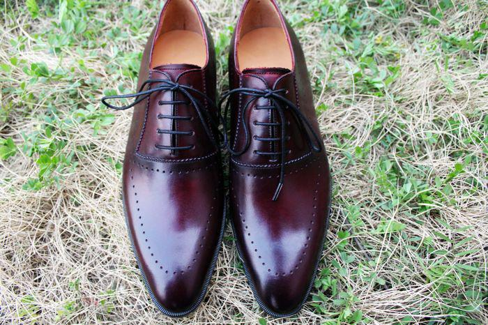 49c5042a53f9 Men Dress Shoes Oxfords Shoes Men S Shoes Custom Handmade Shoes Genuine  Leather Derby Shoes Color Burgundy HD 211 Mens Boots Shoe From Annychena6
