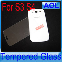 Wholesale Screen Protector S4 Gorilla - Gorilla Tempered Glass Screen Film Shatter & Scratch-Proof Protector FOR S3 S4 Note 2