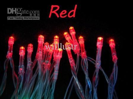 Gratis frakt Outdoor Indoor Holiday 3m 30 LED-strängljus Batteridriven jul Nyår Bröllopsdekorationer för Trädgård 5 färger