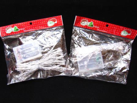 クリスマスパーティーバッテリーストリングライト30LEDS 3M LEDストリング照明文字列新しいバッテリー操作赤青黄色の白緑5色
