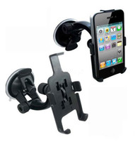 Wholesale Car Window Suction Mount - Wholesale - CAR PHONE HOLDER WINDOW SUCTION MOUNT FOR iPHONE 5 5S With retail package