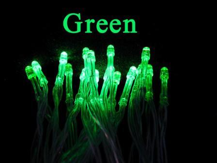 Lámpara de hadas del LED luces de la Navidad luces de la secuencia del partido 20leds 2M luces de la secuencia del led iluminación con pilas de la iluminación es