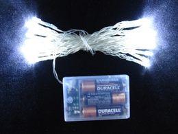 LED luces de navidad lámpara de luces de hadas iluminación de vacaciones 3 metros luz azul luz blanca pura fiesta iluminación luces de vacaciones LED cadena desde fabricantes