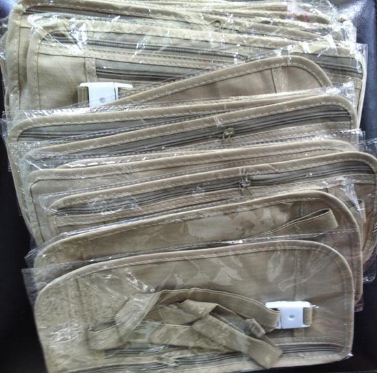 Security Travel Ticket Waist Purse Pouch Money Coin Cards Passport Belt Bag New sale 2013