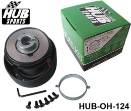 Wholesale Quick Release Steering Hubs - Auto Steering Wheel Quick Release Hub Boss Adapter Kit Mode OH-124 for Honda HUB-OH-124 Have In Stock