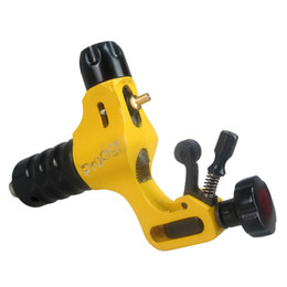 Wholesale Tattoo Rotary Prodigy - Yellow Prodigy Rotary Tattoo Machine Gun For Tattoo Needle Ink Cups Tips Kits 6 Colors can choose