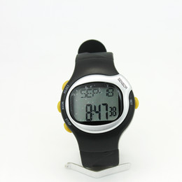 Wholesale Calories Watch Heart Rate - Calorie Watch DH-0401 Sport Pluse Heart Rate Monitor Watch with Daily Alarm Keytone Chronograph for Fitness 2013 Newest