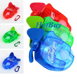 Wholesale Portable Water Fans - Mini Portable Deluxe Electric Water Spray Mist Sport Beach Travel Cooling Fan #2532