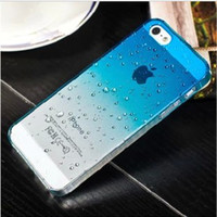 "Wholesale S4 Case Chrome - S6 Ultra Thin Slim Chrome Plastic 3D Clear Water Case Drop Dripping Hard PC Cover For iPhone 4 4s 5 5s 6 4.7"" 5.5"" Galaxy S5 S4 S3 DHL"
