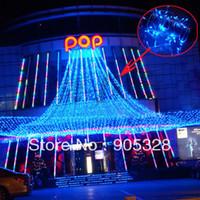 cortinas iluminadas bodas al por mayor-Venta de vacaciones gratis 30M = 300L LED String Decoration Luces de cortina de luz para bodas LED String Fairy Lights LED Holiday Lights