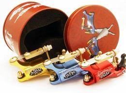 Wholesale Aluminium Frame - Classical Rotary Tattoo Machine Gun IMPORT Motor Latest Tattoo Gun Aircraft Aluminium Frame Supply For Kits Tattooing