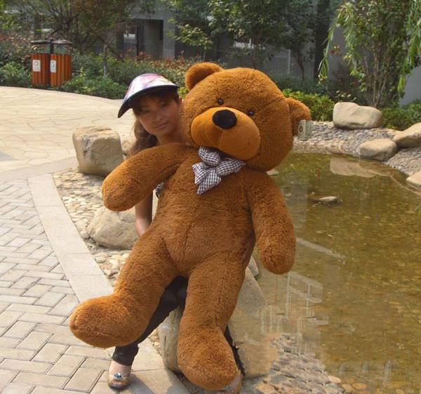 Högkvalitativa Lågpris Plush Leksaker Storlek100cm / Teddy Bear 1m / Big Embrace Bear Doll