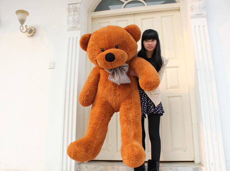 High quality Low price Plush toys large size100cm / teddy bear 1m/big embrace bear doll