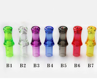Wholesale ego mouth tips - Clear Mouth Drip Tip Mouthpiece Electronic Cigarette Accessories for Ego Serise CE4 CE4+ CE5 CE5+ CE6 Clearomizer Atomizer