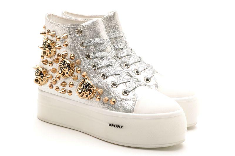 Hot Sale Casual Shoes Girls Shoes Platform Lesisure Shoes Womens ... f5f3cf36b225