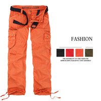 Wholesale Girl Cargo Pants Baggy - Women Clothing Autumn Fashion Women's Cargo Pants Multi-pockets Girls Harem Hip Hop Dance Baggy Pants Casual Trousers 9075
