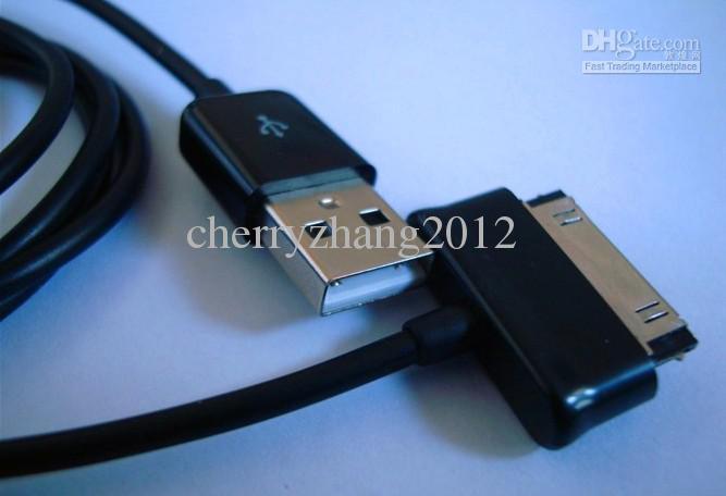 Adaptador de cargador de cable de sincronización de cable de datos USB para Samsung Galaxy Tab P1000 10.1