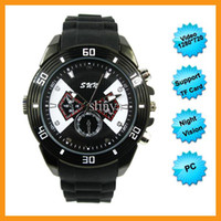 Wholesale W P HD IR Night Vision Spy Watch Camera Hidden Camera Digital Watch Recorder Support Shoot Video Taking Photos Record Audio