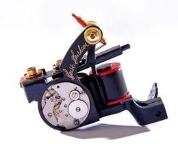 Wholesale Tattoo Guns Design - Hot!!New Design Luo's Tattoo Machine Guns Handmade For Liner 10 Wrap Coils Tattoo Supply