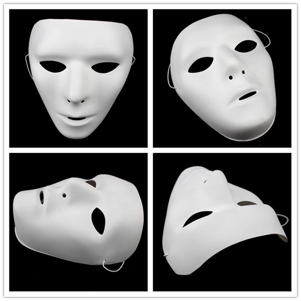 Popular Shuffle Dance Hip hop Mask JabbaWockeeZ Blank men women ...