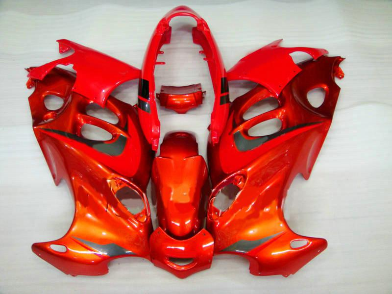 Fairings Kit för Suzuki Katana 2003 2004 2005 2006 GSXF600 GSX600F GSXF 600 03 05 06 GSX 600F Orange Fairing Set + 7Gifts SY37