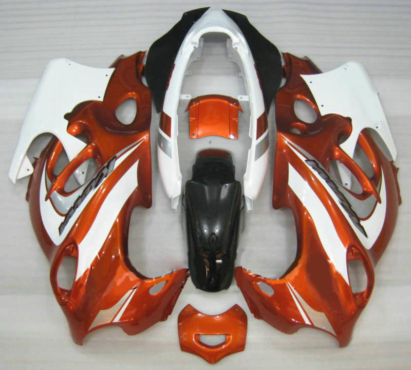 鈴木カタナ2003 2006 GSXF600 GSX600F GSXF 600 03 04 05 06 GSX 600Fオレンジホワイトフェアリングセット+ 7ギフト