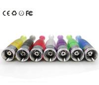 ingrosso atomizzatore ego t ce4 staccabile-GS H2 Atomizzatore GSH2 Clearomizer rimovibile Nessun colori arcobaleno stoppino Sostituire CE4 Cartomizer per EGO eGo-T W VV USB 510 Batteria