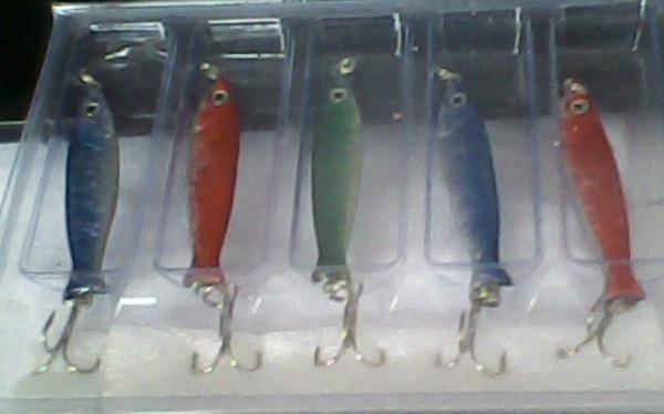 17g lead hard fish lure sink type bottom swimming jigs