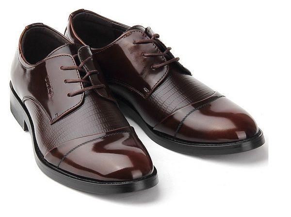 Einzigartig Herren Freizeit Schuhe aus Leder Business
