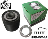Wholesale High performance VW A Racing Steering Wheel Hub Adapter Boss Kit for Volkswagen Jetta Bora Gol Polo HUB VW A