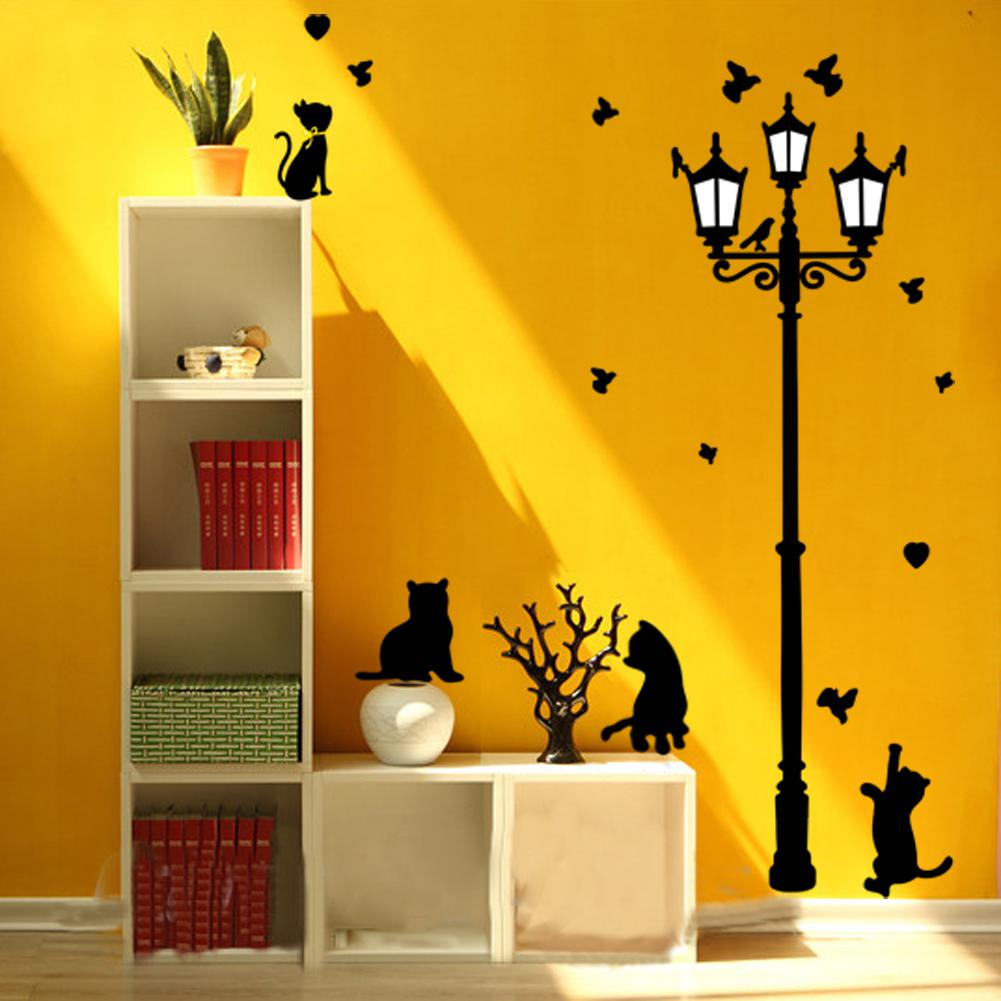 Peel And Stick Room Decor Wall Decals Cute Cartoon Wall Stickers For ...
