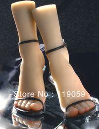 feminino manequins sexo vaginas Desconto Negociação exclusiva-- produtos do sexo sólida silicone real boneca Pussy menina pés modelo pé brinquedos fetiche adorar clonagem # 3700-A