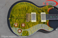 Wholesale Electric Santana - Santana Green Burst Electric Guitar China Guitar