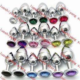 $enCountryForm.capitalKeyWord NZ - 178g L size 4*10.16CM Stainless Steel Attractive Butt Plug Jewelry Anal Plug Rosebud Anal Jewelry