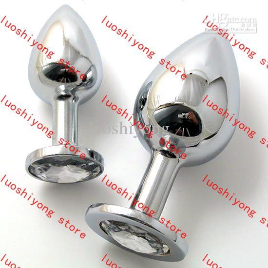 178g L size 4*10.16CM Stainless Steel Attractive Butt Plug Jewelry Anal Plug Rosebud Anal Jewelry