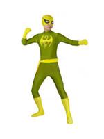 Wholesale Female Costumes Men - Iron Fist Marvel X-men Superhero Costume Halloween Costumes