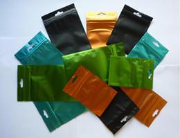 Canada 8.5 * 13cm fermeture éclair sac aluminium feuille éléments masculins et féminins sac de soupape Aluminium Aluminium Zipper sac en plastique aluminium sac d'emballage sac Offre