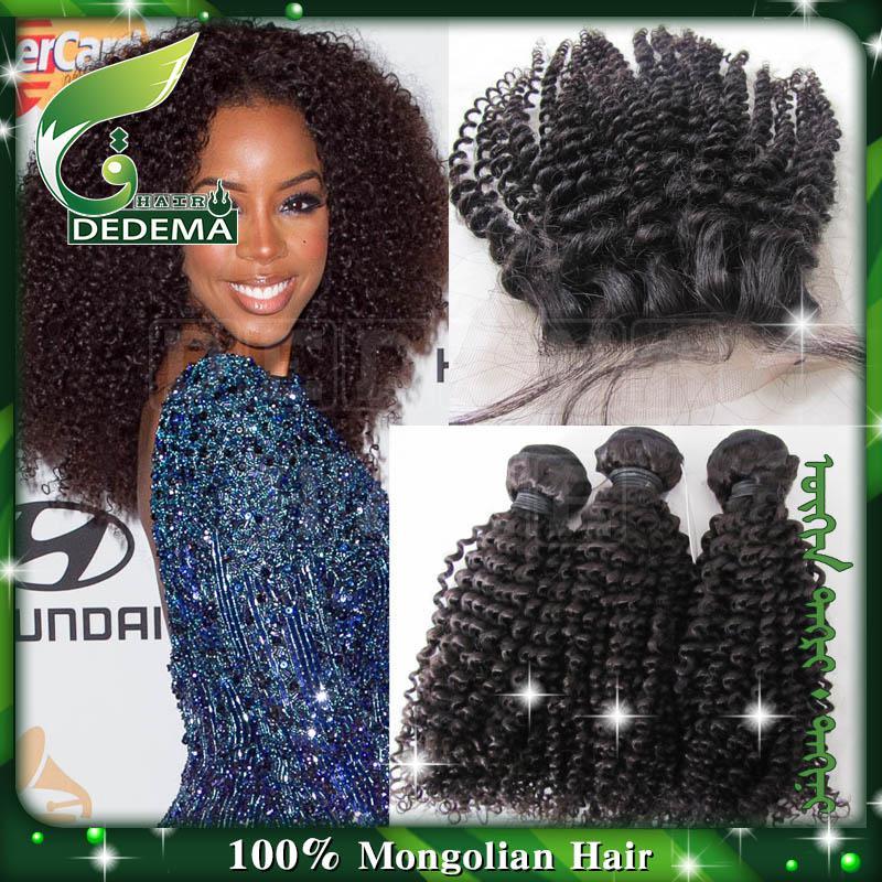 Brazilian Peruvian Malaysian Kinky Curly Virgin Hair Weave Extension