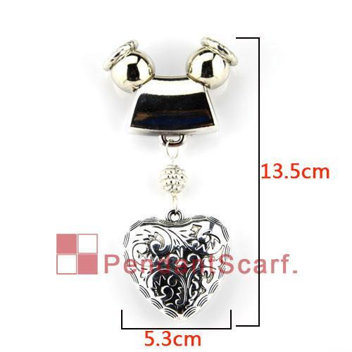18 pçs / lote venda quente moda 9 projetos misturados DIY colar de jóias lenço descobertas acessórios charme pingente conjunto, frete grátis, AC18MIX